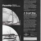1970 Paceship Sailboats Ad- Photo of 29- 37 Models