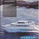 2001 Tarrab Yacht Color Ad- Nice Photo