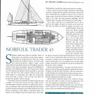 2001 North Trader 45 Yacht Review- Boat Specs & Drawing