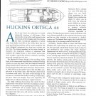 2001 Huckins Ortega 44 Yacht Review- Boat Specs & Drawing
