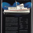 2001 Nordic Tug 52 Boat Color Ad- Boat Specs & Drawing
