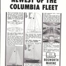 1962 Bosworth marine Ad- Photo of Columbia 29 sailboat