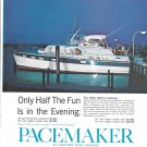 1962 Pacemaker Yacht Color Ad- Nice Photo