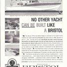 1962 Bristol 60' Gull Yacht Ad- Photos & Drawing