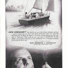 Old Ray Green Sailboat Ad- Drawing