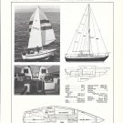 Old Ericson 27 Sailboat Ad- Boat Specs- Photo & Drawing