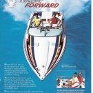 2005 Thunderbird Formula 292 Fas Tech Boat Color Ad- Great Photo- Hot Girl