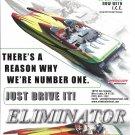 2005 Eliminator 33 Daytona Boat Color Ad- Nice Photo