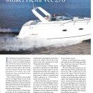 1999 Rinker Fiesta Vee 270 Boat Review- Nice Photos & Boat Specs