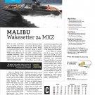 2021 Malibu Wakesetter 24 MXZ Boat Review- Boat Specs & Nice Photo