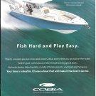 2021 Cobia 350 Center Console Boat Color Ad- Nice Photo