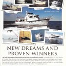 2012 Kadey- Krogen Yachts Color Ad- Photo of 9 Models