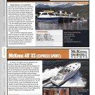 2013 Aspen Power Cat 28 & McKinna 48 XS New Yachts Color Ad-Boat Specs & Photo