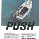 1966 Kiekhaefer Mercury Outboard Motors Color Ad- Nice Photo