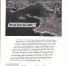 1962 Chubb Insurance Ad- Nice Photo Carvers Harbor, Vinalhaven Maine