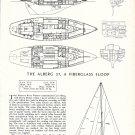 1966 Whitby Boat Works Alberg 37 Sloop Ad- Boat Specs & drawings