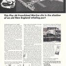 1967 Phillips 66 Ad- Nice Photo Fairhaven Marine