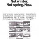 1967 Chris- Craft Boats Ad- Photos of 12 Models