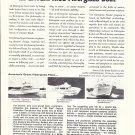 1966 Breuil Enterprise Boats Ad- Photo of 28- 31 & 36 Models