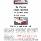 1965 Pacemaker Yachts Color Ad- Photo of 36 Convertible