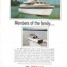 1968 Trojan Boat Co Color Ad- Photo of 38 Sea Voyager & 24 Sport