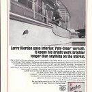 1967 International Paint Co Ad- Nice Photo 1928 50' Elco Yacht