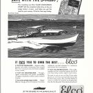 1948 Electric Boat Co Elco 30 Sport Cruiser Boat- Nice Drawing