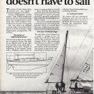 1976 Cal- Boats Cal 2-46 Sailboat 2 Page Ad- Nice Photo