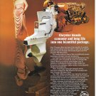 1978 Chrysler 105 Diesel Stern Drive Color Ad- Nice Photo- Hot Girl