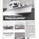 1967 Ulrichsen Boats Ad- Photos of 33- 29- 31 & 33 Models