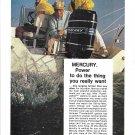 1974 Mercury Marine 150 HP Outboard Motor Color Ad- Nice Photo