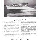 1965 Bel- Craft 32' Express Cruiser Boat Ad- Nice Photo