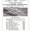 1963 Eagle Point Marina Ad- Nice Photo- Lewisville Texas