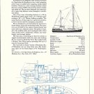 1974 S & S 48' & Down East 38 Double Sailboats 2 Page Ad- Boat Specs & Drawings