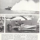 1982 Article The 18th NDBA Nationals Boat racers Nice Photos Hydroplanes