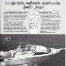 1983 Bayliner 2150 Ciera Boat Ad- Nice Photo