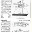 1981 Balboa 24 & Ocean Ranger 50 New Boats Ad- Boat Specs & Drawings