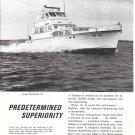 1970Huckins Cruiser Sportsman 76 Yacht Ad- Nice Photo
