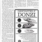 1966 Donzi Marine Boats Ad- Photo of 19- 18 & 16