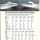1972 Pacemaker 26 & 28 Boats & Evinrude V-4 Outboard Motor 2 Pg Double Ad- Nice Photos