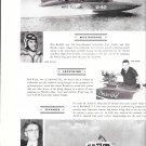 1959 Boats Ad- Nice Photo Hydroplanes Crosswind & Miss Bardahl- Seafarer Boat