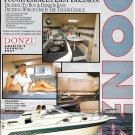 Old Donzi Marine 255 & 275 Medallion Boats Color Ad- Nice Photos- Hot Girl