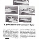 1966 Western Boat Fairliner Boats Ad- Photos of 5 Models