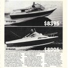 1977 SeaCraft Boats Ad- Nice Photo 20 Sceptre & 20 Safari