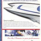 1998 Mares 38 Performance Cat Boat 2 Page Color Ad- Nice Photo