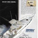 1998 Intrepid 395 Yacht Color Ad- Nice Photo