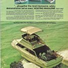 1973 Winner 280 Yacht 2 Page Color Ad- Nice Photo