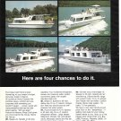 1973 King Craft Home Cruiser Boats Color Ad- Nice Photo 35-44-40-55