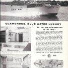 1959 Richardson 46 Golden Anniversary Motor Yacht Ad- Nice Photos