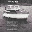 1965 Trojan 2500 Express Cruiser Sea Breeze Yacht Ad- Nice Photo
